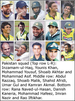 LAHORE Feb 13 With Big Question Marks Pertaining To Fitness Doping Against Their Names Pacers Shoaib Akhtar Umar Gul And Mohammad Asif Were On Tuesday