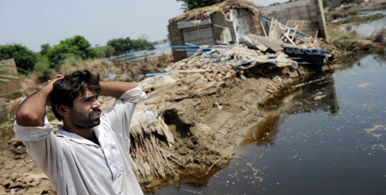 After the floods: Possible effects on Pakistan's farmland
