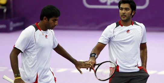 Aisam-ul-Haq Qureshi and Rohan Bopanna.