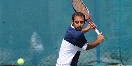 aqeel khan, pakistan tennis, tennis, davis cup