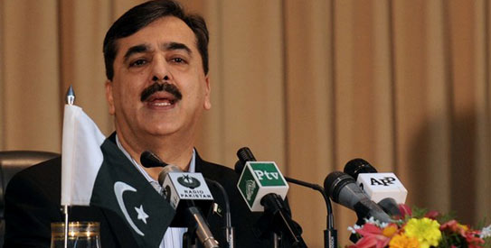Prime Minister Yousuf Raza Gilani. — Photo by AFP