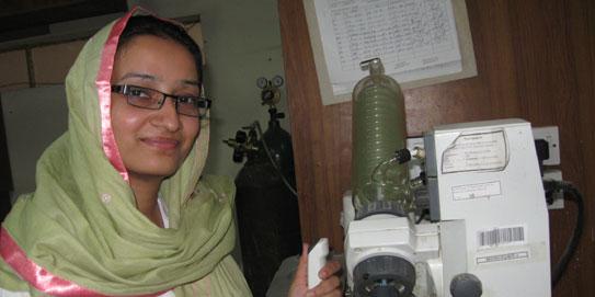 Dr Hina Siddiqui, Pakistani scientists, Eurasia Chemistry award