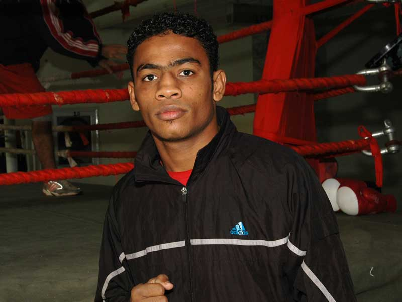 Arshad Hussain: (69kg)<br /> <strong>DOB:</strong> 17/7/1990, Karachi<br />  <strong>How it all started:</strong> I was a big fan of Pakistan's boxing great and Olympian Jan Mohammad Baloch. I myself got into boxing after being pushed into the sport by my cousins who must have seen some potential. I have trained at the RCB club but after I got noticed by the Pakistan Air Force, they have been a great support in preparing me for international level boxing.<br /> <strong>Training and diet:</strong> I train for 4 hour