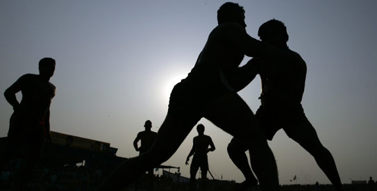Japan lost to kabaddi powerhouse Pakistan on Tuesday 40-24 in round two play, but is still hoping to reach the podium and win the country's first-ever medal in the sport. —AFP/File Photo
