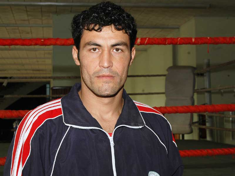 Mirwais Khan (91+kg)<br /> <strong>DOB</strong>: 13/10/1986, Chaman<br /> <strong>How it all started:</strong> I started when I was 15 from the Akbar Boxing Club. My family was really passionate about boxing so it was a natural choice. Saif Khan and Abdul Wali were my idols growing up.<br /> <strong>Training and diet:</strong> Right now it is 24 hours of training and focusing for the Asian Games. I am lucky weight is not an issue for me so I eat everything that's healthy, mostly mutton. How you cook your food also