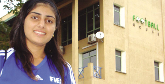 Mehwish Khan, pakistan football