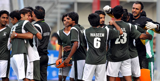 Coming on the back of a gold-medal winning performance by the national team at the recently-concluded Asian Games, the PHF looks set to revive the national game. —AFP Photo