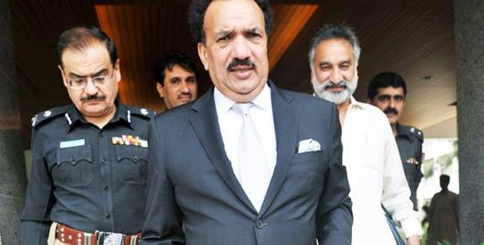 pakistan interior minister, pakistan taliban, rehman malik