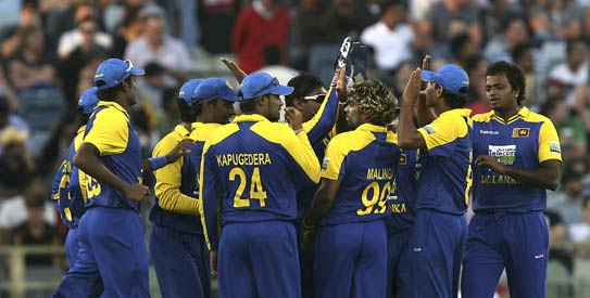 Sri Lanka earned three rating points with their 2-1 series win in Australia to go one point clear of India —AFP Photo