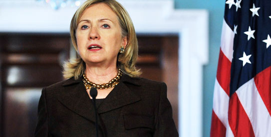 """Abandoning Al Qaeda,  according ti US Secretary of State Hillary Clinton, is one of the """"necessary outcomes"""" of the current talks. - Photo by AP"""