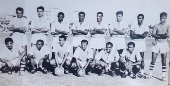 Members of the Mohammaden Sporting Club of Dacca —File