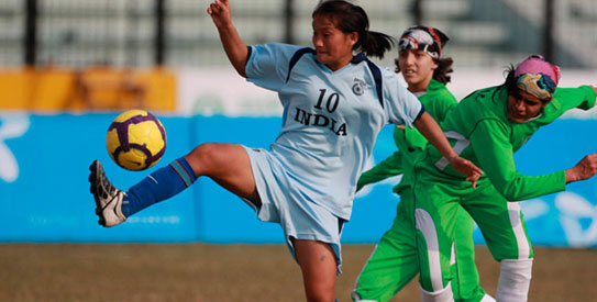 India reached the SAFF Women's Championship final on the back of a 8-0 win over Pakistan in the semis. —File Photo
