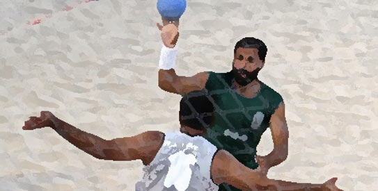 Gold-medallists at the 2008 Games, Pakistan ended up with a silver medal in the beach handball event as they lost to Kuwait in the final.