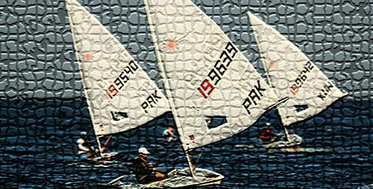 Pakistani sailor Najeebullah Khan won silver medal.