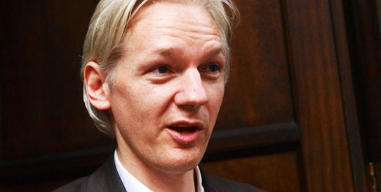 Assange says Swedish women accusers in a 'tizzy'
