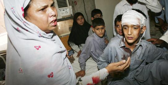 Peshawar, Peshawar blast