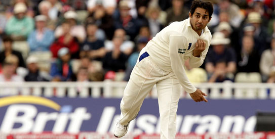 Saeed Ajmal is one of Pakistan's two spin bowlers for the Test series against New Zealand. —AP/File Photo