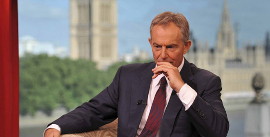 Iraq war, Tony Blair