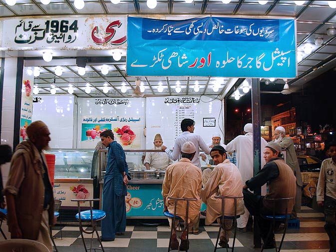 """Dehli Rabri House has been serving the """"Famous Burns Road Rabri"""" since 1964. Rabri is a very sweet dessert made from condensed milk cream and butter."""