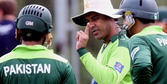 Waqar Younis wants to break his World Cup jinx