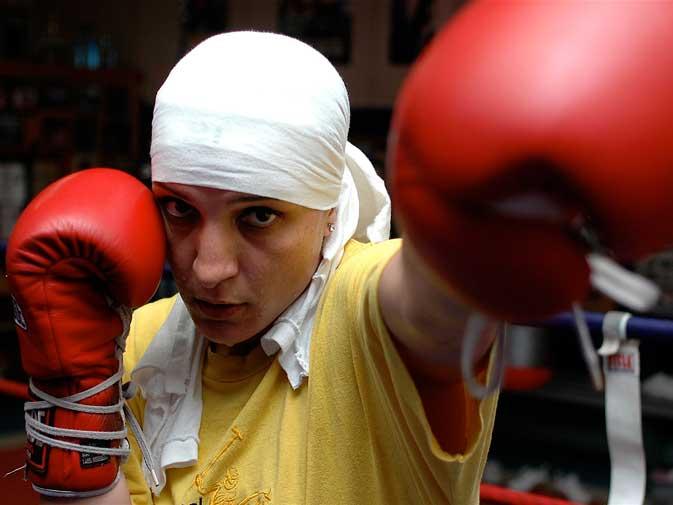 Mariem Brakache, Boxer