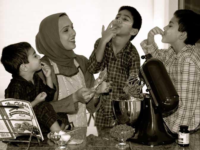 Hina Khan-Mukhtar, Homeschooling Mom of Three
