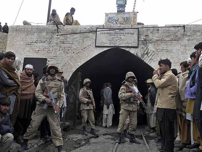 Mine explosion in Balochistan