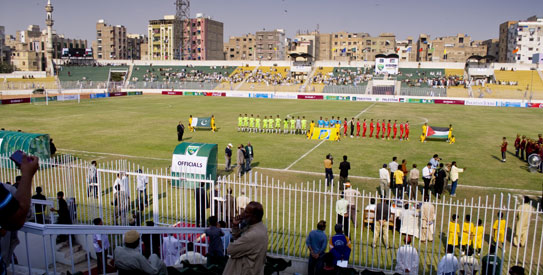 Pakistan-Palestine football series a welcome step