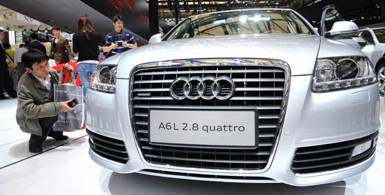 In China, success is a black Audi A6 - DAWN.COM on land rover china, mercedes c class china, audi a3 china, jeep cherokee china,