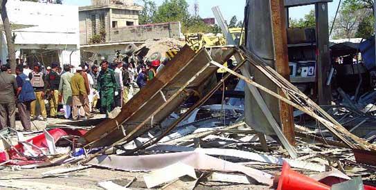 Faisalabad blast carnage