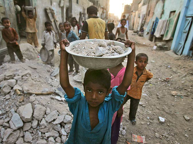 child labour in pakistan The labour policy, 2002, endorses the nppa to combat child labour and states that the government of pakistan has accepted the responsibility to enhance the age limit to 18 years with respect to the worst forms of child labour, for entry into the labour market after ratification of the ilo convention no 182 in 2001.