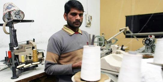 Textile exports in March 2012 were lesser by 21.72 per cent.