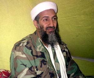 Osama bin Laden. — File photo.