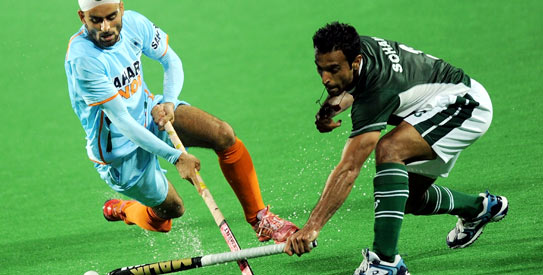 Pakistan take on India in the Azlan Shah Cup at Malaysia. —File photo by AFP