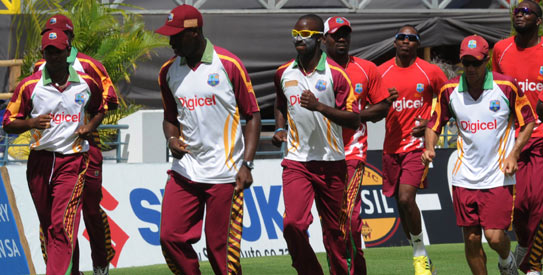 West Indies will play a two-day practice match on Sunday and Monday at the Demerara Cricket Club in the Guyana capital of Georgetown, following which the squad will be whittled down to 13. —File photo by AFP