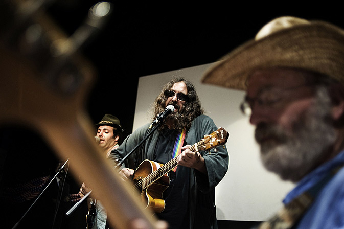 A band takes part in ?The Big Lebowski? festival. -Photo byAFP