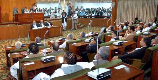 AJK assembly passes Rs44.5bn budget