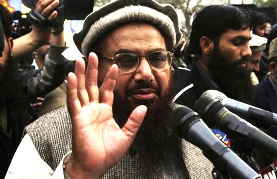 One of the cables notes that China did not block the most recent Pakistan-related terrorist nomination of JuD's Hafiz Saeed, made by the US.-Photo by AP