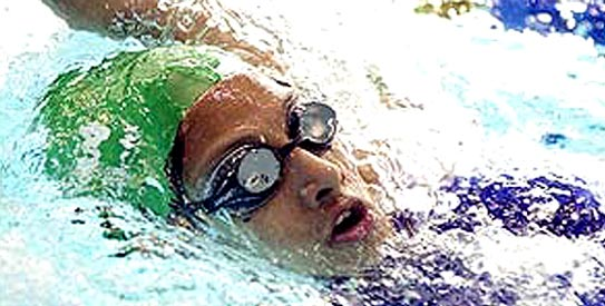 kiran khan, pakistan swimming, swimming, national swimming championship