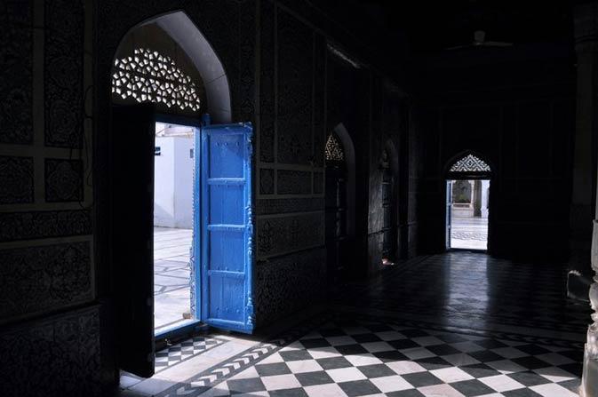 Doors of the shrine. - Photo by Mustafa Sheikh