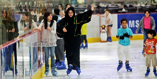 uae, Dubai Ice Rink