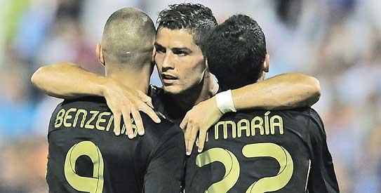 cristiano ronaldo, real madrid, la liga, la liga 2011-2012