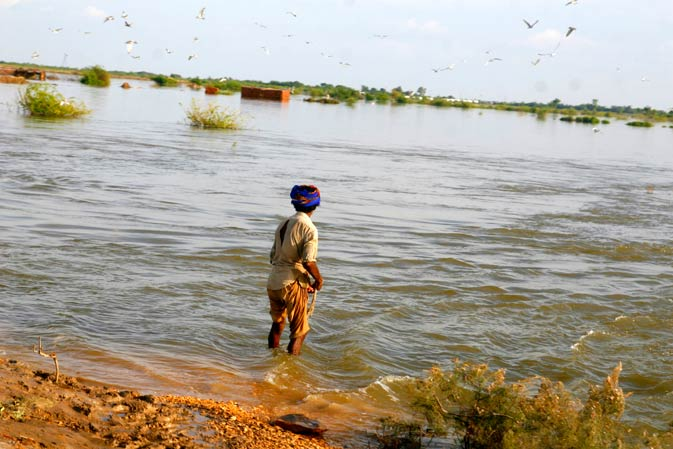 Surviving the 2011 floods in Badin