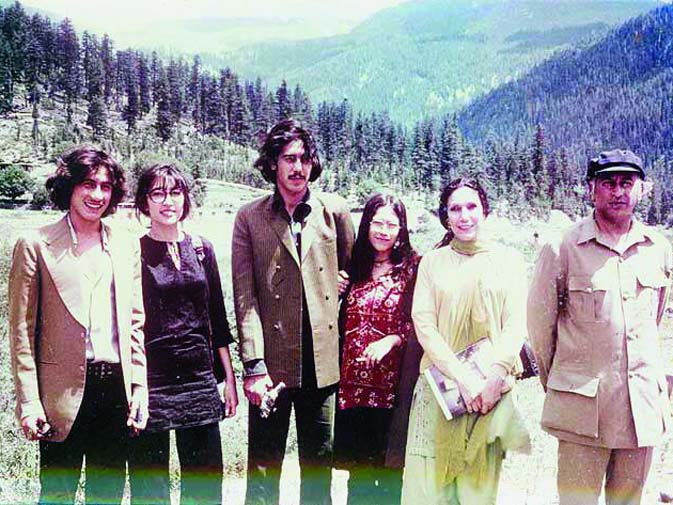 Here the Bhutto family is seen during happier days. ? Dawn File Photo