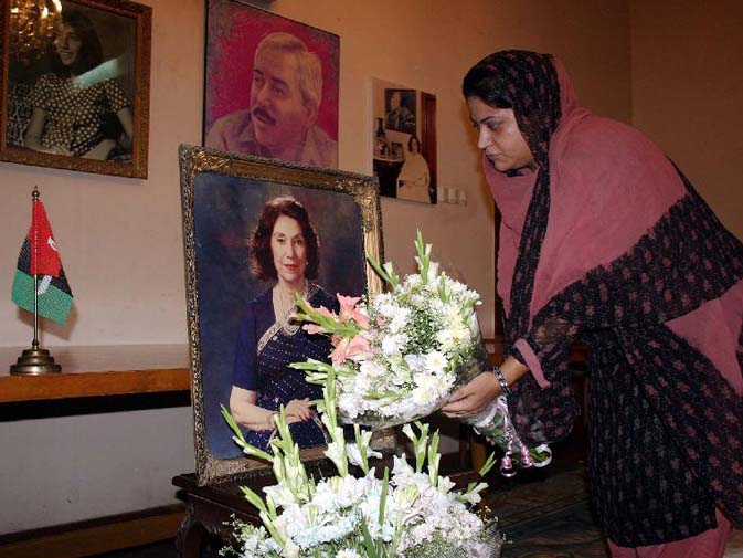 Begum Nusrat Bhutto died in Dubai. It's a quiet end to the life of the widow of former Prime Minister Zulfikar Ali Bhutto, mother of former Prime Minister Benazir Bhutto and mother-in-law of President Asif Ali Zardari, away from her homeland. She will be buried at a graveyard laden with family tragedies. ? PPI File Photo