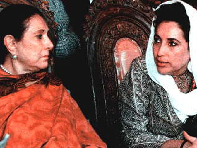 After a troubled sharing of party leadership with Benazir and then serving as senior minister in her daughter's two prematurely ended prime ministerial terms, came what proved to be a shattering blow from which she never recovered: the Sept 20, 1996 assassination of her elder son, Murtaza Bhutto. ? Dawn File Photo