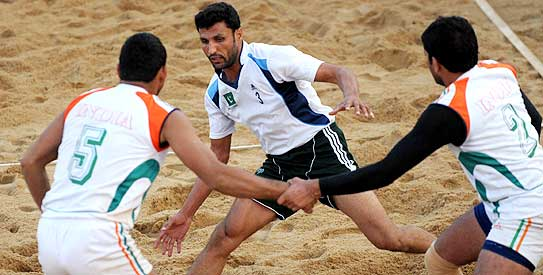 kabaddi, pakistan kabaddi, south asian beach games, india kabaddi