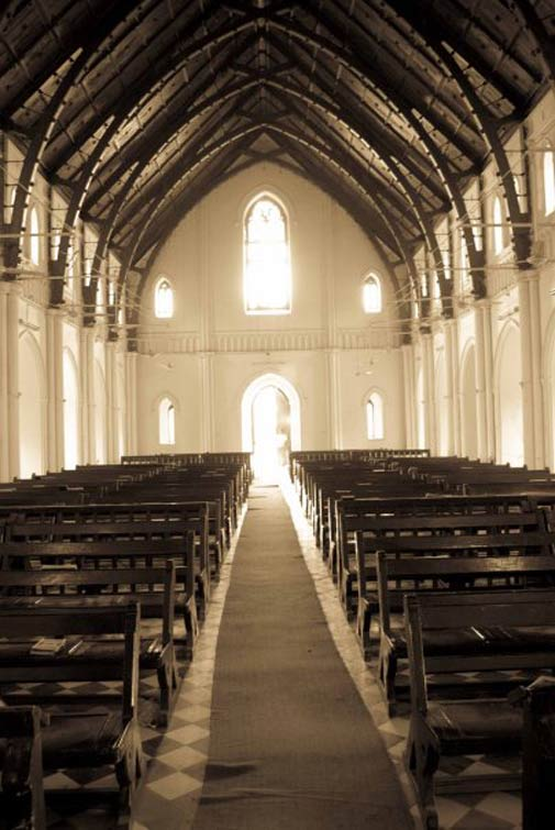 A Catholic Church in Bahawalpur - Photo by Humayun M | 18% grey