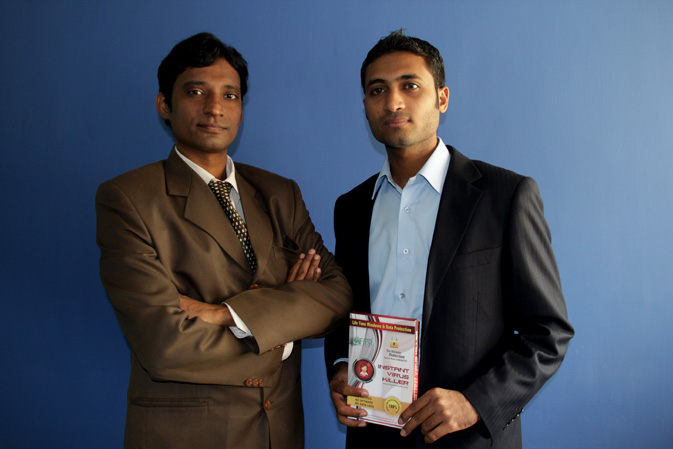 Hafiz Usman (Right) and Syed Imran Ali (Left) invented the first Pakistani made anti-virus. Known as IVK it is an antivirus, recovery program, with data security and data protection. Since creating IVK in November 2009, they have provided this technology to the coperate sector, educational sector, armed forces as well as home users. They have expanded their reach to 35 cities in Pakistan. They were also invited to Singapore by EAS Maritime and gave a presentation in National University of Singapore on Cyber threats