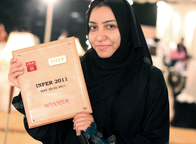 It is not enough to have a good mind; the main thing is to use it well. This quote of Rene Descartes can be best applied towards 20-year-old-girl Sadia Shahid. She had the world's highest scores in A-levels biology and chemistry securing a 100 per cent in both of the subjects in 2009 from the Middle East International School, Riyadh. To fulfill her dreams, she earned a scholarship to the Institute of Business Administration Karachi (IBA). Sadia has also topped the BBA Dean's honour list for four consecutive semeste
